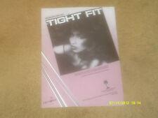Chaka Khan sheet music Tight Fit '84 3 pp. Vg+ shape