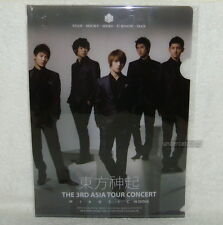TOHOSHINKI Mirotic Live 2009 Taiwan Promo Folder (Clear File) TVXQ