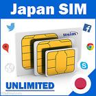 7 Days Japan Unlimited Data Prepaid SIM Card 4GLTE/3G Speeds tarjeta japon sim