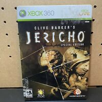 Clive Barker's Jericho: Special Edition: Steelbook Xbox 360 - CIB & Tested