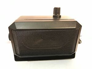 External / Extension Speaker with Amplifier  amplified for scanners handheld 12v