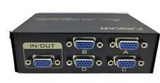 Switch vga 4 porte 4 ingressi 1 uscita risoluzione 1920 x 1440