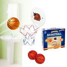 3pc WC Bagno Divertente Gioco Basket Ball Potty Putter Loo con tappo di aspirazione