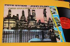 PETE STRIDE JOHN PLAIN LP NEW GUITARS IN TOWN 1°ST ORIG UK 1980 NM !