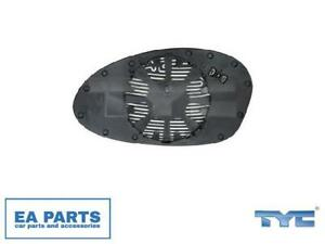 Mirror Glass, outside mirror for BMW TYC 303-0097-1 fits Right
