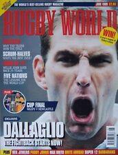 RUGBY WORLD MAGAZINE JUNE 1999 - LAWRENCE DALLAGLIO