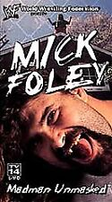 WWE Mick Foley Madman Unmasked VHS Video SEALED Mankind WWF