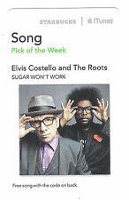 Starbucks Music Card (Expired) - UK Singer Songwriter Elvis Costello