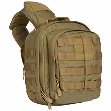 5.11 Tactical Rush Moab 6 Shoulder Bag Mens Security MOLLE Pack Sandstone Khaki