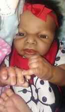 AA ethnic reborn baby doll with COA