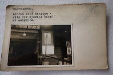 More details for c1920s lner manchester london road station railway photo & negative publicity 1