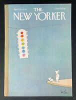 COVER ONLY ~ The New Yorker Magazine, April 23, 1979 ~ Arnie Levin