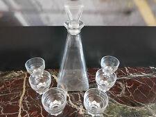 carafe verres art-déco art nouveau vintage CERAMIC by PN