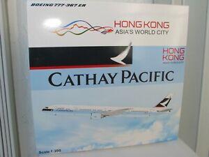 1:200 SCALE JC Wings CATHAY PACIFIC BOEING 777-300ER REG# B-KQJ