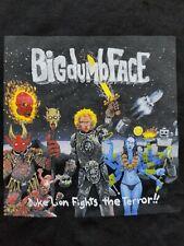 Vtg Big Dumb Face Duke Lion Fights The Terror Rock Rap T Shirt Limp Bizkit Xl