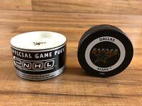 Dallas Stars Official NHL Hockey Game Puck Year 2000 Millennium w/ Orig Box Case