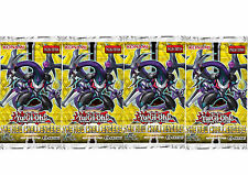 YU-GI-OH: THE NEW CHALLENGERS - 4 SEALED BOOSTER PACKS (NECH) NEW NOVEMBER 2014