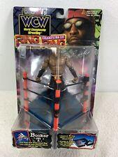 1999 ToyBiz WCW/NWO Wrestling Ring Fighters Booker T Wrestler Action Figure