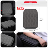 1Pcs Grey Car Armrest Center Console Support Box Top Mat Liner Pad Cover Cushion