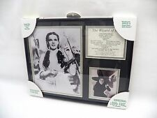 RARE! The Wizard of Oz Movie Double Matted Framed Picture Plaque Dorothy Garland
