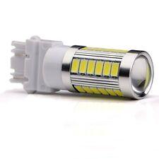4x White 3157 3156 33SMD LED Backup Parking Signal Side Light Stop Brake Bulb