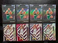Lot of 8 2019-20 Status TMall Carsen Edwards Rookie Cards - Pink, Silver, Base
