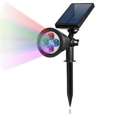 Color Changing Led Solar Light Spotlight for Outdoor Wall Light , Security Light