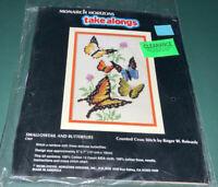 Monarch Horizons Takealongs Counted Cross Stitch Robert W. Reinardy 1988 CS69