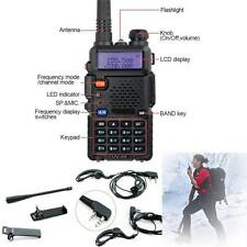 Portable UV-5R Dual-band Handheld Alarm VHF/UHF Two Way Ham Radio Transceiver