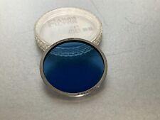 Vintage Canon 48mm Colour Conversion Blue  Filter, & Keeper