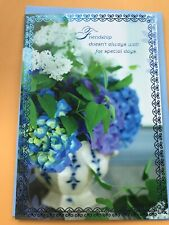 Hallmark Friendship/Thinking Of You Greeting Card Beautiful Card