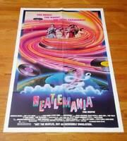 Beatlemania Poster One-Sheet Mitch Weissman David Leon The Beatles 1981