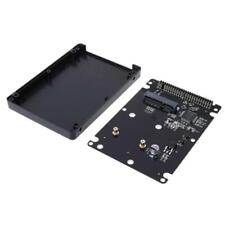 Mini SATA mSATA SSD Hard Disk to 44Pin IDE Adapter with Enclosure Case HDD