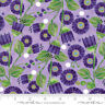 """Moda Sweet Pea Lily Lavender 48641 14 100% Cotton Quilting Fabric 44"""" Wide SBY"""