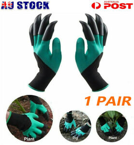 Garden Gloves Gardening Gloves With Claws for Digging & Planting *1 Pairs* AUS