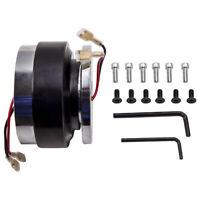 "Universal Steering Wheel 6 Bolt Hub Adapter 1.5"" Short Quick Release Kit"