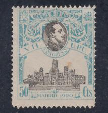 ESPAÑA (1920) NUEVO CON FIJASELLOS MLH SPAIN -EDIFIL 306 (50 cts) UPU - LOTE 1