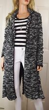 ANTHROPOLOGIE FREE PEOPLE Last Dance Marled Knit Duster Sweater Coat Small Pet