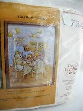 Vintage 1981 The Creative Circle Happy Birthday Embroidery Kit - Personalized
