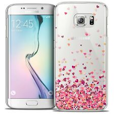 Coque Crystal Pour Galaxy S6 Edge Extra Fine Rigide Sweetie Heart Flakes