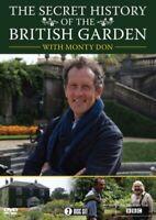 Nuovo Monty Don The Segreto Storia Di The Britannico Giardino DVD