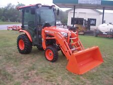 Very Nice Kubota B3350 4X4 Loader Tractor With Super B Cab Only 110 Hours