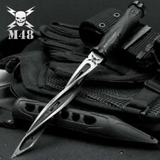 United Cutlery M48 Cyclone 3 Edge Tactical Spiral Spike/Knife w/Sheath UC3163