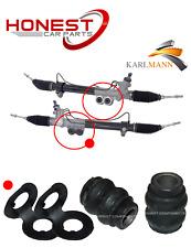 For NISSAN NAVARA D40 2005-2015 FRONT POWER STEERING RACK BUSH KIT X2 NEW