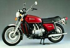 GL1000 GOLDWING 1975 FULL DECAL KIT FOR RED BIKE.