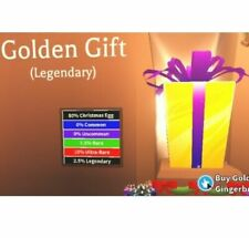 Adopt Me Golden Gift, Out Of Game- Really Rare