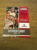 Stephen Curry  2016-2017 Panini Contenders Old School Colors #19