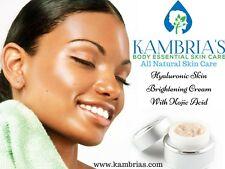 Hyaluronic Skin Brightening Cream w/ Kojic Acid