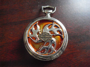 Franklin Mint Harley Davidson Prototype Pocket Watch Case #2 LOOK