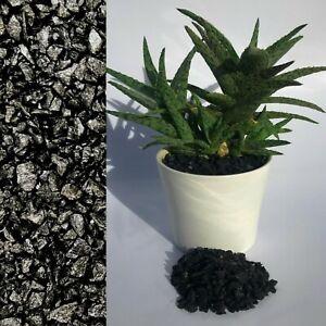 5mm Black Stone Dressing Gravel for Cactus Succulent Bonsai Plant Pot Topper